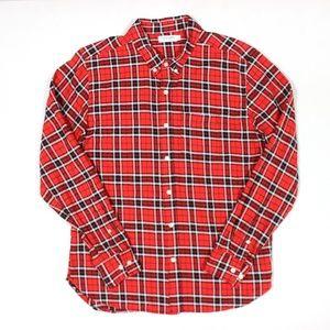 Flint and Tinder Plaid Button Front Shirt LS